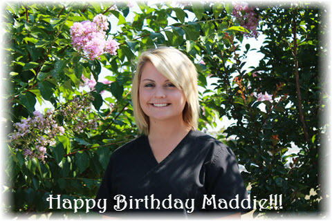 Happy Bday Maddie